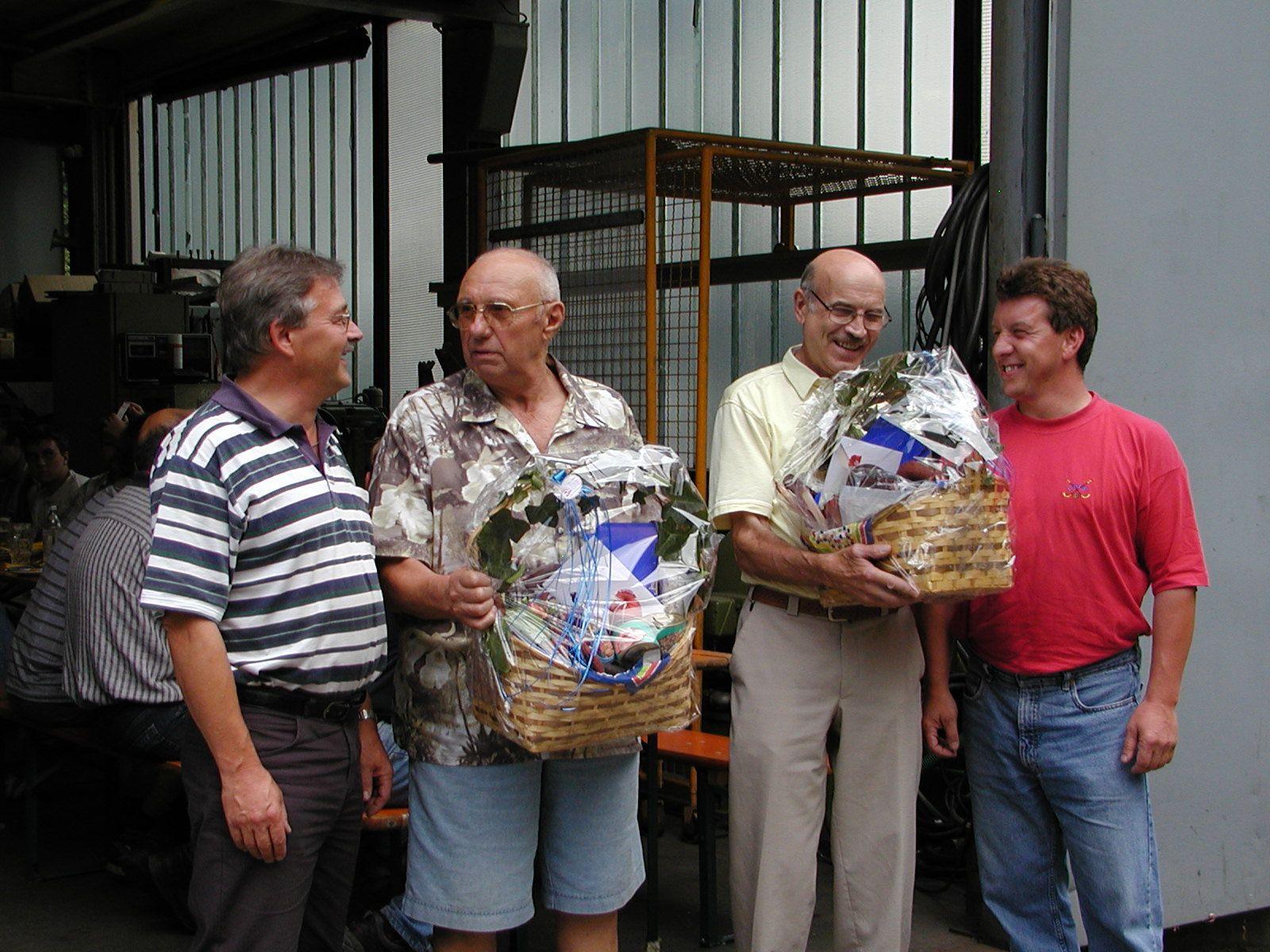 Verabschiedung in den wohlverdienten Ruhestand