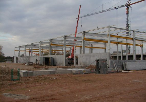 Neubau Betriebsgebäude am Markbach