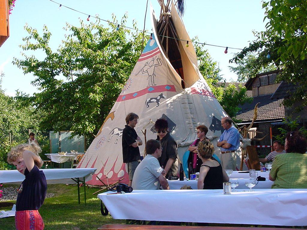 Indianerfest in Moos