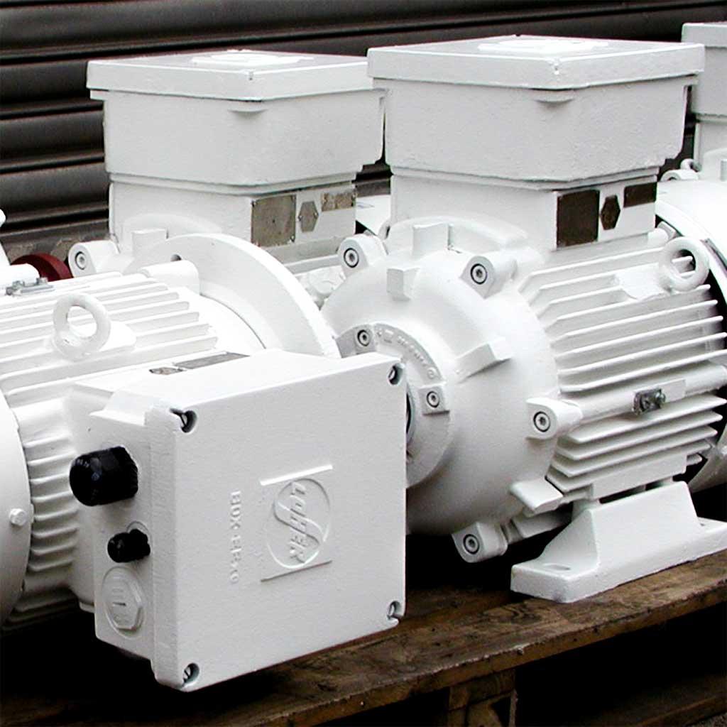 Instandsetzung von EEx Motoren
