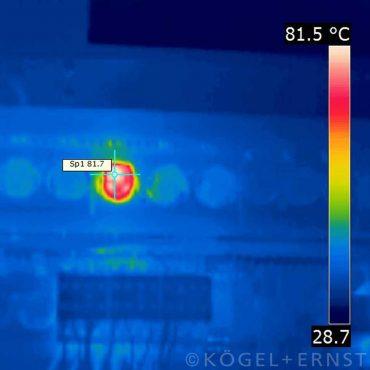 Thermografie von elektrischen Anlagen